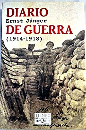 Diario de guerra (1914-1918): JUNGER