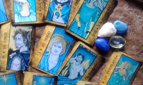 9789877110258: NEW RELEASE BY SILVIA ORDOQUI ORACLE BLUE ORACULO AZUL tarot cards plus book ARGENTINA