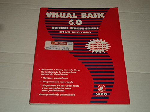 9789879008751: Visual Basic 6.0 - Edicion Profesional En Un (Spanish Edition)