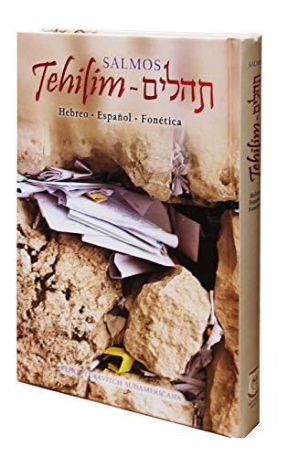 9789879107584: Tehilím Salmos De La Biblia Torá En Español, Hebreo Y Fonética - Grande