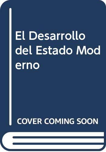 9789879173091: El Desarrollo del Estado Moderno (Spanish Edition)