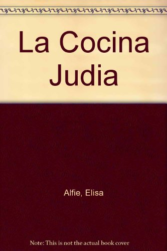9789879264218: La Cocina Judia (Spanish Edition)