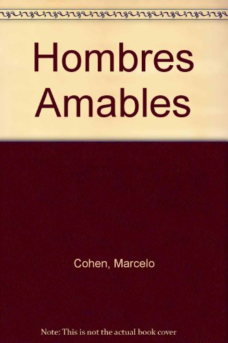 9789879334065: Hombres Amables