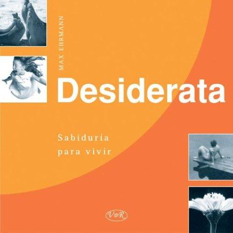 9789879338346: Desiderata (Spanish Edition)