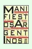 9789879396841: Manifiestos Argentinos: Políticas De Lo Visual (Spanish Edition)