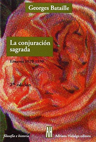 9789879396902: La Conjuracion Sagrada/the Sacred Conspiracy (Filosofia E Historia) (Spanish Edition)