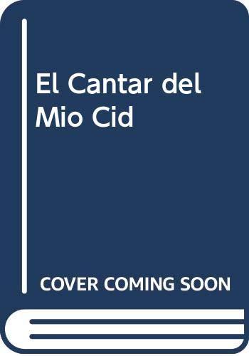 9789879423851: El Cantar del Mio Cid