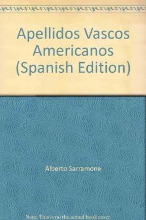 Apellidos Vascos Americanos: Sarramone, Alberto -