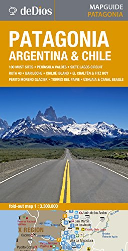 9789879445174: Patagonia (Map Guide)