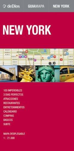 9789879445594: Guia Mapa de New York (Map Guide) (Spanish Edition)