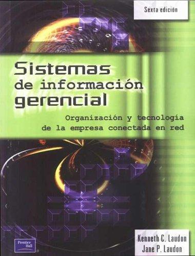 9789879460832: Sistemas de Informacion Gerencial (Spanish Edition)