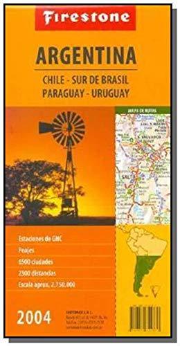 9789879742877: Argentina, Chile, Sur de Brasil, Paraguay, Uruguay: Estaciones de Gnc, Peajes, 6500 Ciudades, 2300 Distancias, Escala Aprox. 2.750.000 [Sic] (Spanish Edition)