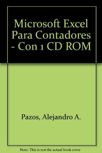 9789879831403: Microsoft Excel Para Contadores - Con 1 CD ROM (Spanish Edition)