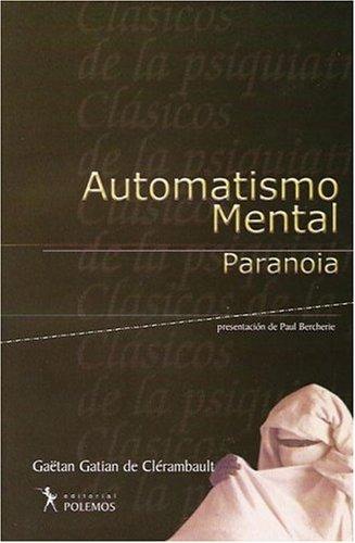 9789879954539: Automatismo Mental - Paranoia