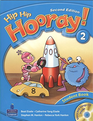 9789880029325: Hip hip hooray 2 2e student book w CD