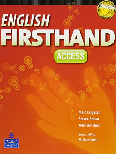 9789880030574: English Firsthand Access + Audio Cds