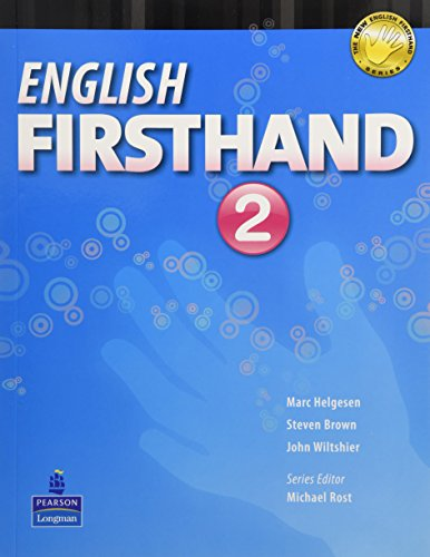 English Firsthand 2 Student Book with Audio: John Wiltshier,Marc Helgesen,Steven