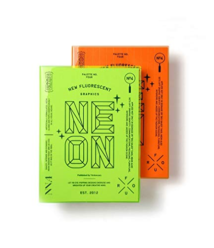 Palette: Neon: New Flourescent Graphics (Paperback): Victionary