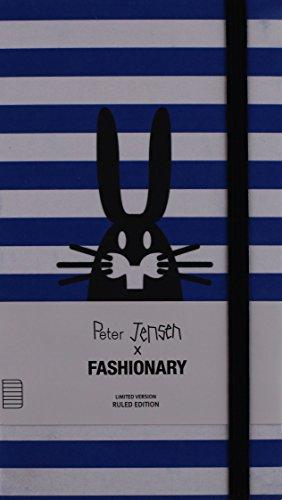 9789881354723: Fashionary X Peter Jensen Ruled Line (blue Line)