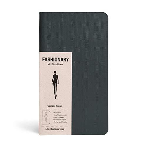 9789881354778: Fashionary Mini Sketchbook Womens