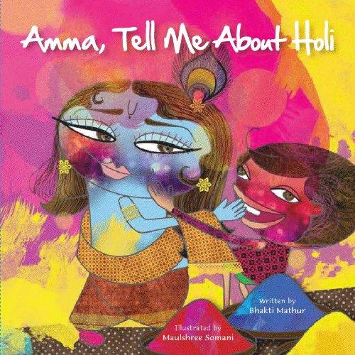 9789881502865: Amma, Tell Me About Holi!