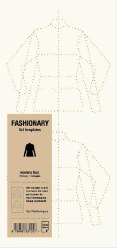 9789881831057: Fashionary Memo Pad - Womens Tops