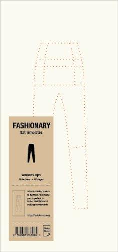 9789881831064: Fashionary Womens Bottoms Memo Pad