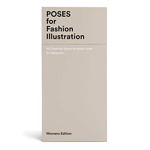 9789887711056: 100 Pose Cards: Women's figure templates for fashion illustration: 100 essential figure template cards for designers