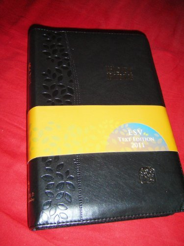 9789888124596: BLACK Leather Bound MODERN CHINESE - ENGLISH Bilingual Holy Bible / CNV - ESV / Cross Zipper, Golden Edges / Chinese New Version - English Standard Version / Simplified / Shen Edition
