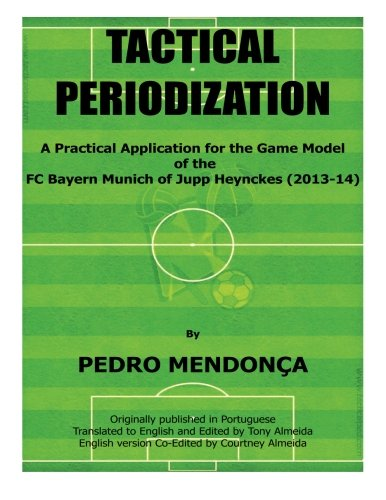 Tactical Periodization: A Practical Application for the: Pedro Mendonca