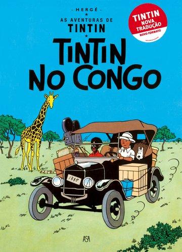 Tintin no congo - Tintin nova traducao: Herge