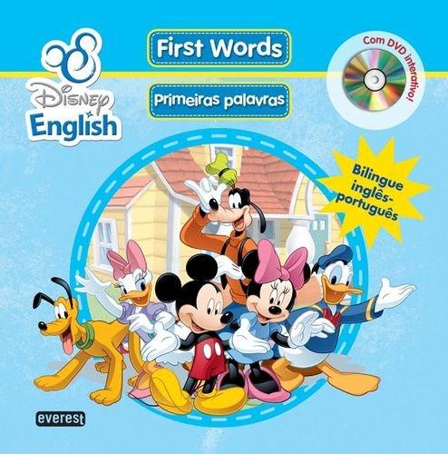 DISNEY ENGLISH FIRST WORDS (PRIMEIRAS PALAVRAS) +DVD: VV.AA.