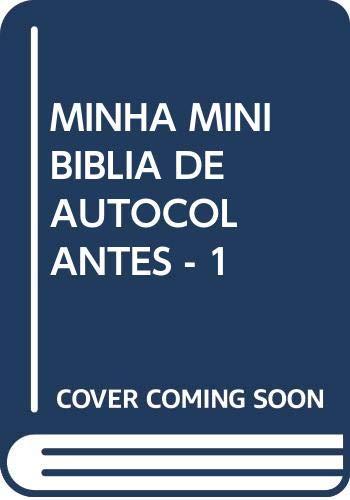 Minha mini biblia de autocolantes - 1: Vv.Aa.