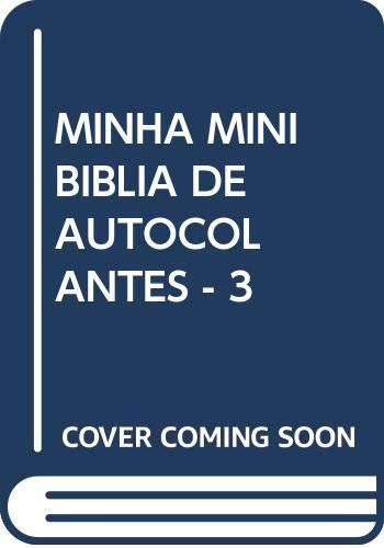 Minha mini biblia de autocolantes - 3: Vv.Aa.