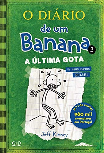 9789896680589: O Diário de um Banana Vol. 3: A Última Gota