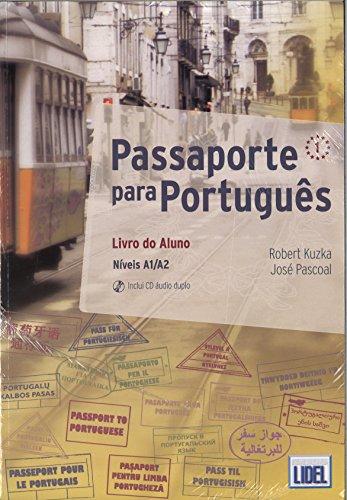 9789897520006: Passaporte para Portugues: Pack: Livro do Aluno +CD audio & Caderno de Exerc