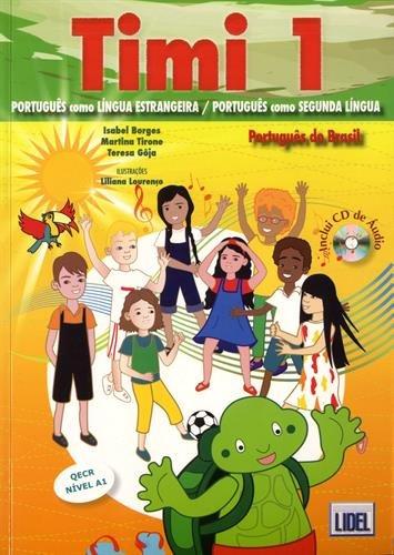 9789897520112: Timi 1 Português do Brasil - Livro do Aluno (+ CD de Áudio) (Em Portuguese do Brasil)