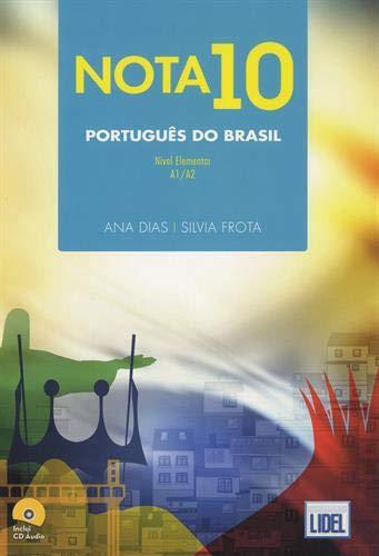 9789897520594: Nota 10 Português do Brasil : Nivel elementar A1/A2 (1CD audio)