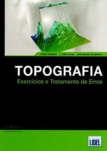 9789897521355: Topografia Exercícios e Tratamento de Erros (Portuguese Edition)