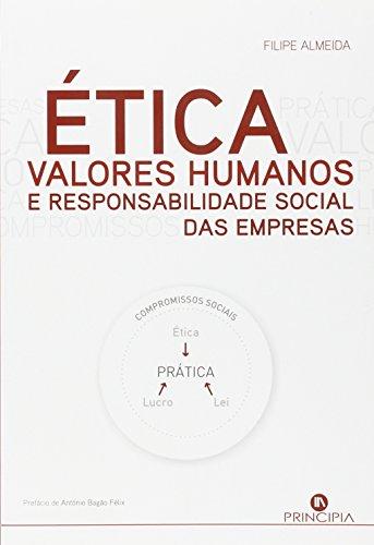 9789898131621: Etica, Valores Humanos E Responsabilidade Social Das Empresas