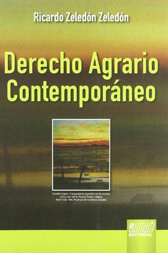 DERECHO AGRARIO CONTEMPORANEO (Paperback)