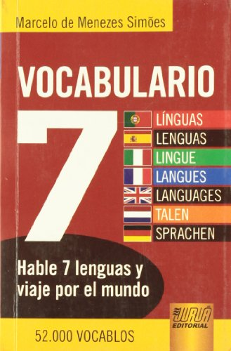 VOCABULARIO SIETE LENGUAS (Paperback)