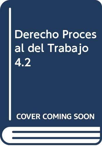 9789898312600: Derecho Procesal del Trabajo 4.2