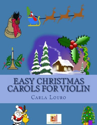 9789898627216: Easy Christmas Carols for Violin