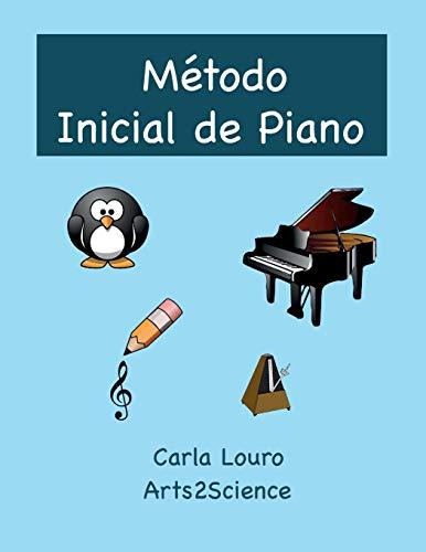 9789898627223: Método Inicial de Piano: com áudio gratuito