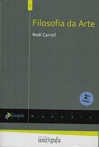 9789898811035: Filosofia Da Arte (Em Portuguese do Brasil)