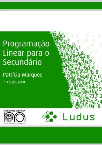 9789899587823: Programação Linear para o Secundário (Portuguese Edition)
