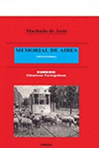 9789899877344: Memorial De Aires