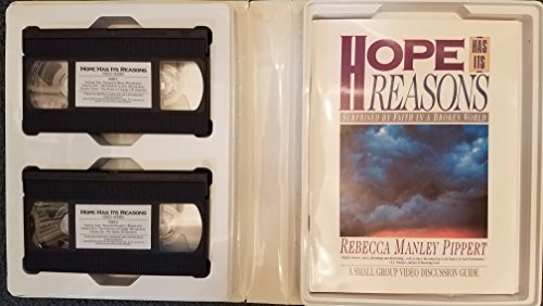 HOPE HAS ITS REASONS: Surprised by Faith in a Broken World (VHS with Books) (9900738047) by Rebecca Manley Pippert