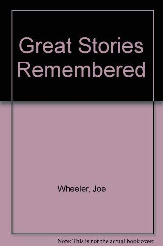 9789901774128: Great Stories Remembered